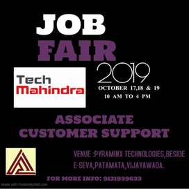 WALK-IN-INTERVIEWS TECH MAHINDRA ON OCT 17,18 & 19