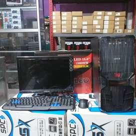 "Promo Cpu Core i3-2100 Try + Monitor 16"" Bergaransi"
