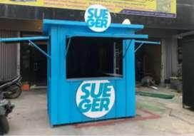 Terima CICILAN/CASH booth semi container kirim semua kota di indonesia