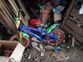 sepeda anak murah tinggal pakai (NEGO)