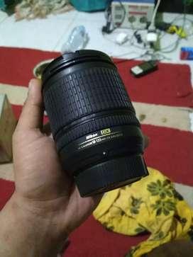 Lensa kamera dslr nikkor 18-135 sapujagad for nikon