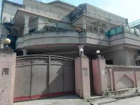 10 marla, double story House For Sale located at lower jinnah garden.