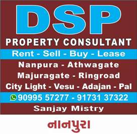 Give on rent OFFICE  New semi furnished & new building
