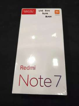 Brand new sealed Redmi Note 7 4gb 64gb available