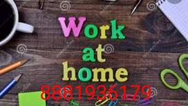 Copy and paste work at home