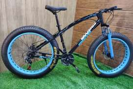 Love Freedom Fat Tyre Cycle with 21 Shimano Gears: Mountain Bike 26T