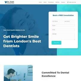 Jasa Pembuatan Website Dentist Clinic