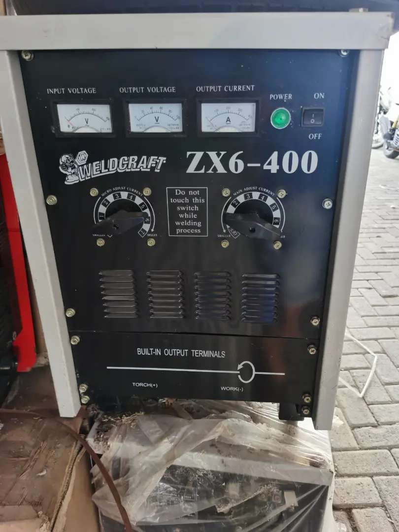 Travo las / welding machine  ZX6 DC  400.3 phase