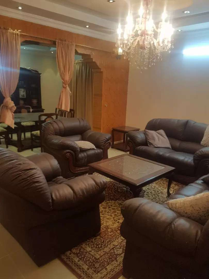 Fully furnished house one day weekly monthly basis in Bahria town 0