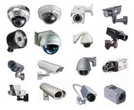 4 channel complete CCTV set hikvision d-link cp plus dahua coreprix