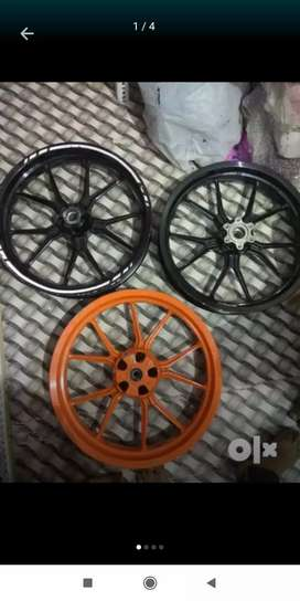 For sale KTM Duke pulsar hero Honda body parts