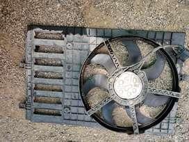 Volkswagen Complete radiator fan