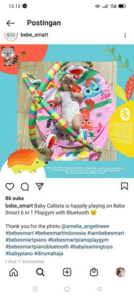 Bebe smart mainan anak, play game, play mate, musik anak