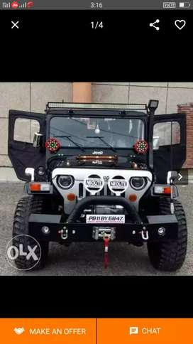 All type modified Jeep Gypsy and Thar sidhu motors