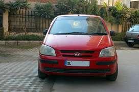 Hyundai Getz Car CNG with Delhi Registration
