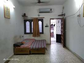 For rent furnished one bedroom house at Naranpura