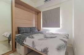 Disewakan Apartemen Green Pramuka City type 2BR furnish bisa cicilan