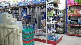 Tegal rak gondola minimarket supermarket importir langsung