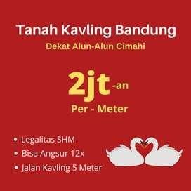 Jual Tanah Kavling Bandung, Dekat Alun - Alun Cimahi,  SHM