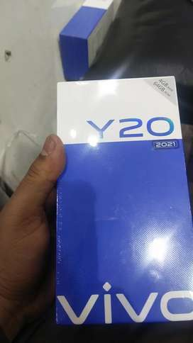 Vivo y20 barnd new phone box pack ram 4/64
