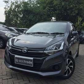 Daihatsu Ayla 1.2 X M/T 2019 ABU-ABU