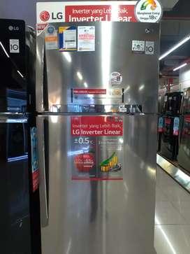 LG Big 2 Door Refrigerator GNH702HLHU