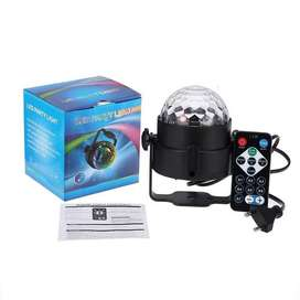 AGM Proyektor LED Lampu Disco DIsko Remote Control Kontrol Warna Warni