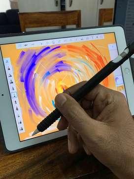Ipad 6th gen wifi silver with apple pencil