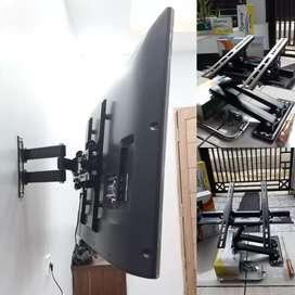 pasang jual BRACKET SWIVEL buat gantungan TV LED LCD tempel di dinding