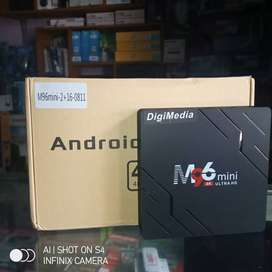 Android TV M96Mini 2/16G 4K Smart TV dan Media Player