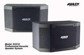 satu set perangkat speaker karaoke