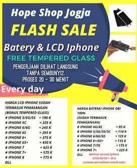 Baterai LCD iphone 5 6 7 8