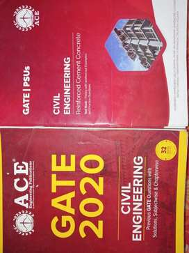 Gate civil engineering books from Ace academy