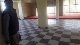 A 1200 sq ft office space near hariom tower, Lalpur, is for rent.