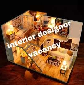 Interiors designer