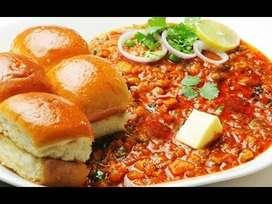 Req:- Pav Bhaji Cook // Wada Pav Cook // Snacks Cook