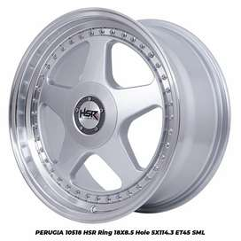 Velg mobil racing ring 18 cocok buat camry  civic luxio dll