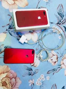 Iphone 7 plus 128 gb Red collor