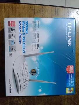 TP Link ADSL modem router