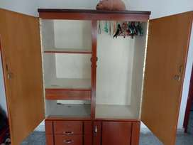 Cupboard - Beautiful, Spacious cupboard with hanging side and drawers.