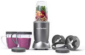 NutriBullet 12-Piece High-Speed Blender/Mixer System, Gray (600 Watts)