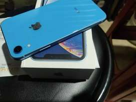 iPhone xr 64gb blue colour just 5 months old spotless new condition