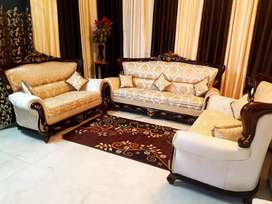 IMMEDIATE SALE! SOFA-SETS, DOUBLE BED, ALMIRAH,AND MANYMORE