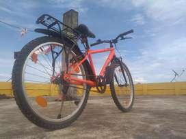 Almost new unused B'Twin Rock Rider bicycle for urgent sell