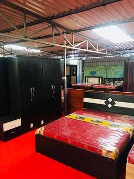 Factory cost wooden Bedroom set ON EMI