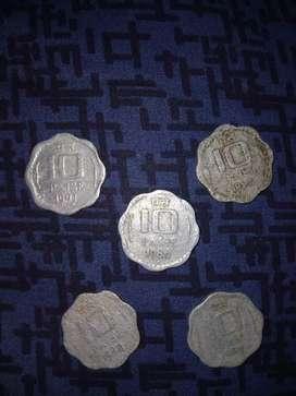 Antique Coins 10 ps