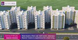 Jala Vayu Towers 3 & 4 BHK flats for sale in Jayapura, Mysore.