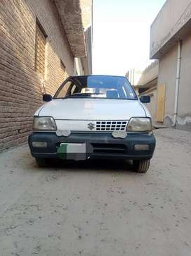 Suzuki Mehran vx company fitted cng and petrol used