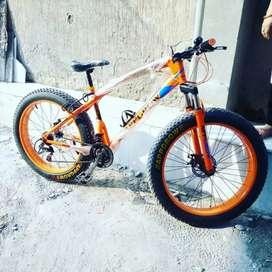 appgrow Fat bike only one week purchased