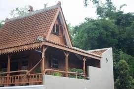 Disewakan Homestay nuansa Rumah Kayu Jati, Batu Kota, sekitar BNS